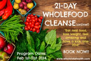21-day Wholefood Cleanse