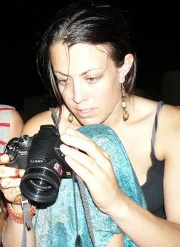 ngaire with camera